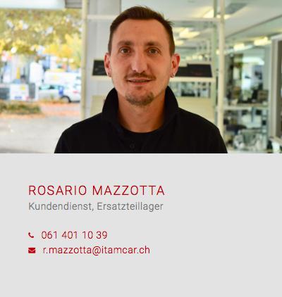 Rosario Mazzotta Werkstatt