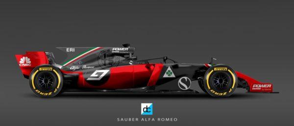 Sauber Alfa Romeo F1 2018