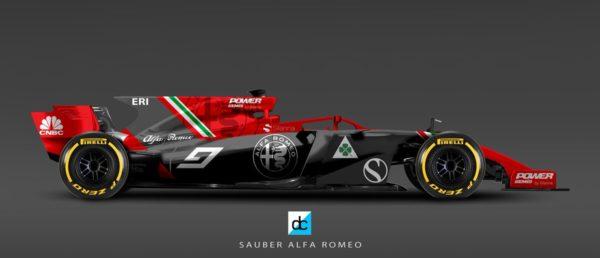 Alfa Romeo Formel 1 2018