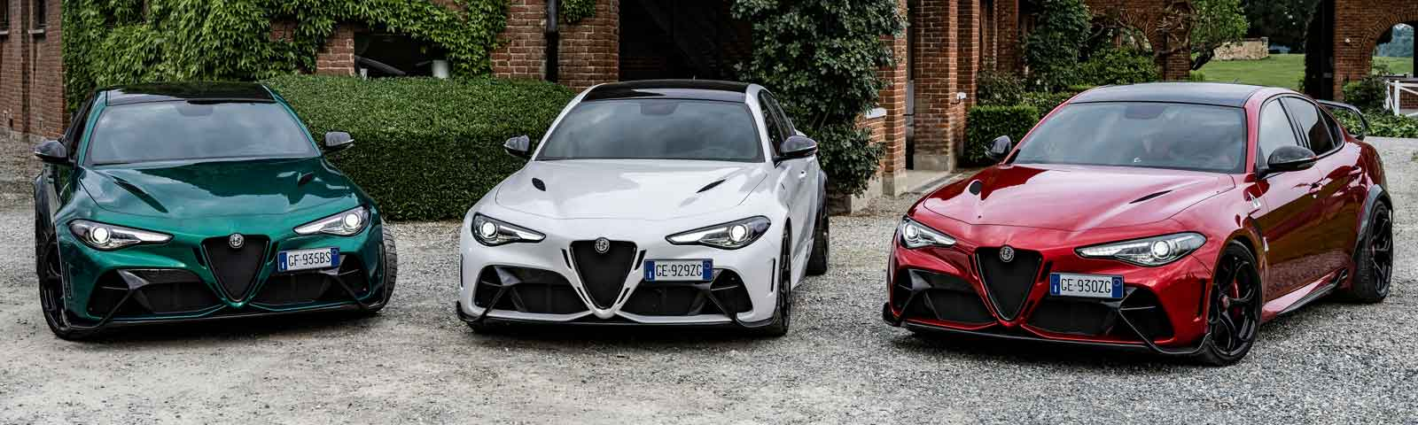 Präsentation des Alfa Romeo GTA